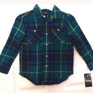 Chaps flannel shirt size 6